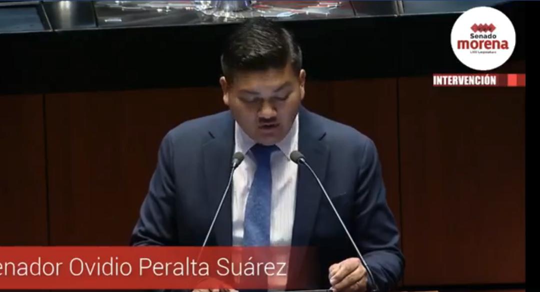 El senador Ovidio Salvador Peralta Suárez, del Grupo Parlamentario Morena, propuso la iniciativa con proyecto de decreto por el que se reforma el último párrafo del artículo 62 de la Ley General de Vida Silvestre